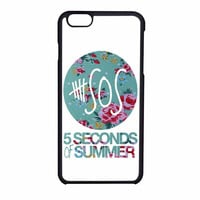 5 Seconds Of Summer Floral Pink iPhone 6 Case