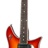 Duesenberg Double Cat Electric Guitar With Case - Fireglow | Hello Music