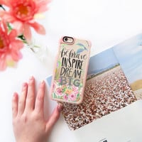 Inspire iPhone 6s & 6s Plus Case (Be Brave, Inspire, Dream Big Pattern) by Casetify
