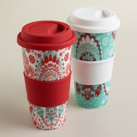 MARLENA NON-PAPER CUPS, SET OF 2