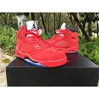 Air Jordan 5 Retro Raging Bull Sneaker Size 36-47