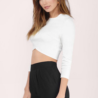 Make The Cut Crop Top $42