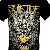Suicide Silence RIP Mitch Lucker Rock Band Music Heavy Metal T Shirt Sirts Available in Size M L Brand New With Tags