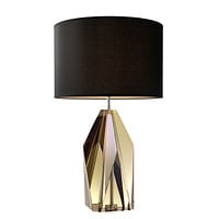 Geometric Faceted Table Lamp | Eichholtz Setai