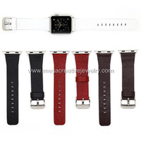 For Apple Watch Strap Band Genuine Leather with Adapter included for 38 and 42mm with retail box