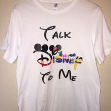 Talk Disney To Me - Disney Character Shirt - Disney Shirt - Ruffles with Love - RWL