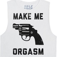 Make Me Orgasm-Female Snow T-Shirt