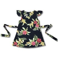 blacksand hawaiian girl hula dress