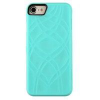 Mint Mirror Wallet iPhone Case