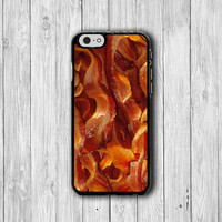 Smoky Fried Bacon Lover iPhone 6 Cases, Delicious Food Fat Phone 6 Plus Cover, Phone 5/5S, iPhone 4/4S Hard Case, Lovely Accessories Gift
