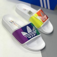 Adidas Adilette Pride Rainbow Couple Slippers