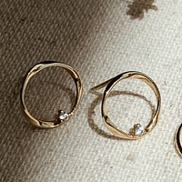 Dainty Twist Metal Earrings - Available in 3 colors