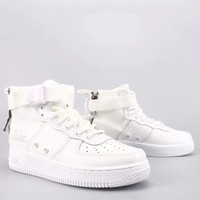 Wmns Nike Air Force 1 Sf Mid Fashion Casual High-Top Old Skool Shoes