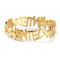 Maria Francesca Pepe 'wanted Allover' Ring - Labour Of Love - Farfetch.com