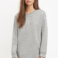 Heathered Scuba Knit Tunic