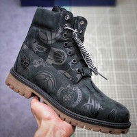 Nba X Timberland Black Truck Boots - Best Deal Online