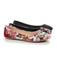 Standouts36A By Bamboo, Round Toe Ballet Slip On Dress Flats