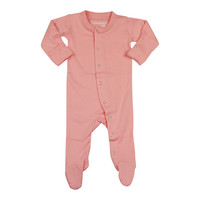 L'OVEDBABY Organic Coral Gloved Sleeve Overall