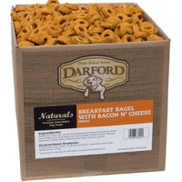 Breakfast Bagel Bacon/Cheese Small Bulk Treats 20 LBS