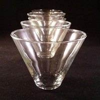 Stemless Martini Glasses  S/6...SOLD OUT