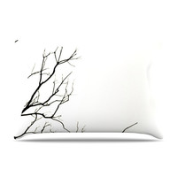 "Skye Zambrana ""Winter"" Fleece Pillow Case - Outlet Item"