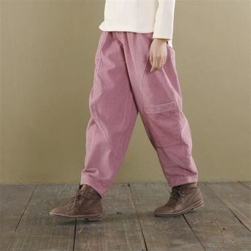 Women's Wide Leg Pockets Loose Pants