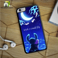 Hawaiian Culture In Stitch Peter Pan Flying Quote iPhone 6S Plus Case by Avallen