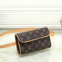 Louis Vuitton Fashion  Women Leather Purse Waist Bag