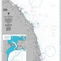 British Admiralty Nautical Chart 3988: Vung Qui-Nhon to Song Huong