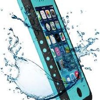 VicTec Waterproof Phone Case Cover For Apple Iphone 5C Shock-Absorbing Pumber Dirtproof Purple