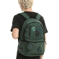 Harry Potter Slytherin Varsity Patch Backpack