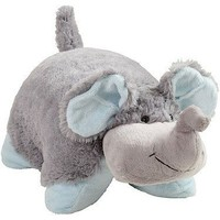 My Pillow Pets Nutty Elephant - Large (Grey with Blue)