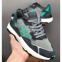 ADIDAS EQT 3M reflective sports shoes-2