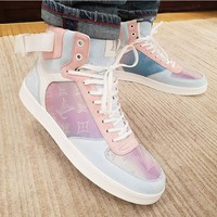 Louis Vuitton LV Candy-colored casual shoes