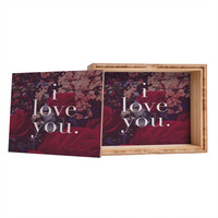 Leah Flores Floral Love Jewelry Box