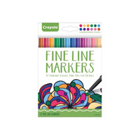 Crayola Fine Line Magic Markers Pack of 12