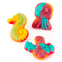 Gummy Sea Critters Candy: 60-Piece Box