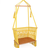 LovelyYellow Handmade Hammock Chair