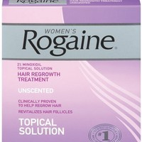 Rogaine for Women Hair Regrowth Treatment, 3 Count Pack, 2 Ounce Bottles | AihaZone Store