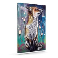 """Kess InHouse Mat Miller """"There is a Light"""" Outdoor Canvas Wall Art, 8 by 10-Inch"""