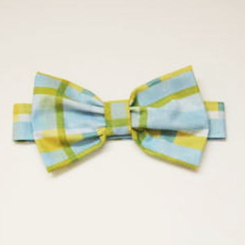 Dog Bow Tie: Blue and Yellow for Your Dog or Cat