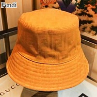 Fendi New fashion more letter couple cap fisherman Hat