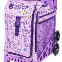 SK8 Princess Limited Edition/Lilac Frame Flashing Wheelset : ZÜCA Store
