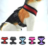 Stylish Flash Bow Dog Harnesses Set Cat Dogs Puppy Breathable Mesh Adjustable Harness Collars Leads with Leash Pet Supplies