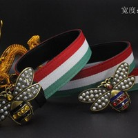 Gucci Belt Men Women Fashion Belts 538086