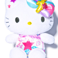 Sanrio Pastel Pop Hello Kitty Plush White One