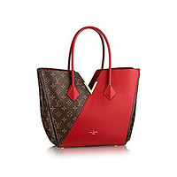 LV Women Shopping Leather Tote Handbag Shoulder Bag Authentic Louis Vuitton Kimono Tot