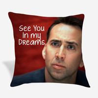 Nicolas Cage Cushion idea