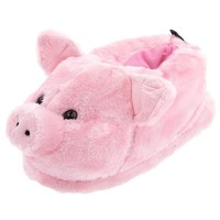 Pig Animal Slippers for Women and Men Medium