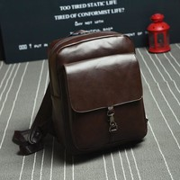 Comfort Back To School College On Sale Hot Deal Stylish Casual Korean Vintage England Style PU Leather Backpack [6582345095]